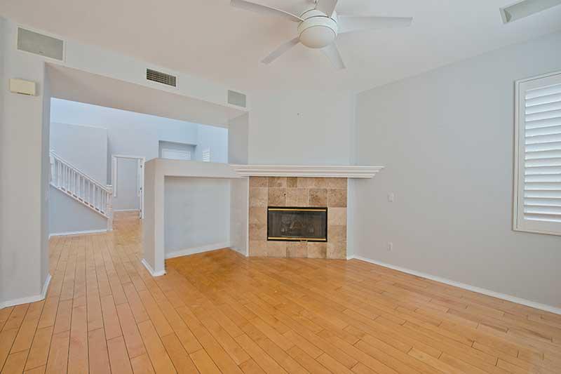 Interior Fireplace at 27909 Agapanthus Lane