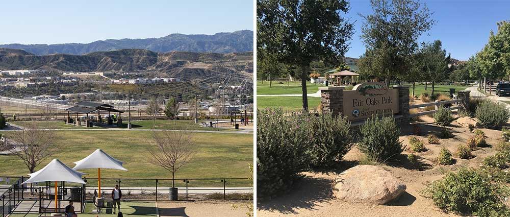 Fair Oaks Park and Golden Valley Park
