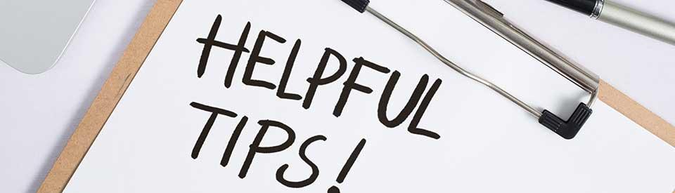Helpful tips on Clip Board