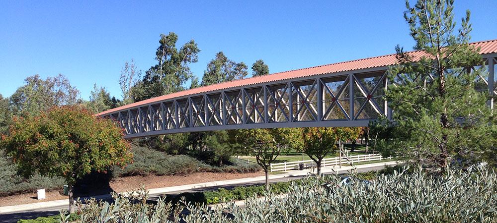 Pedestrian Bridge in Northpark Community
